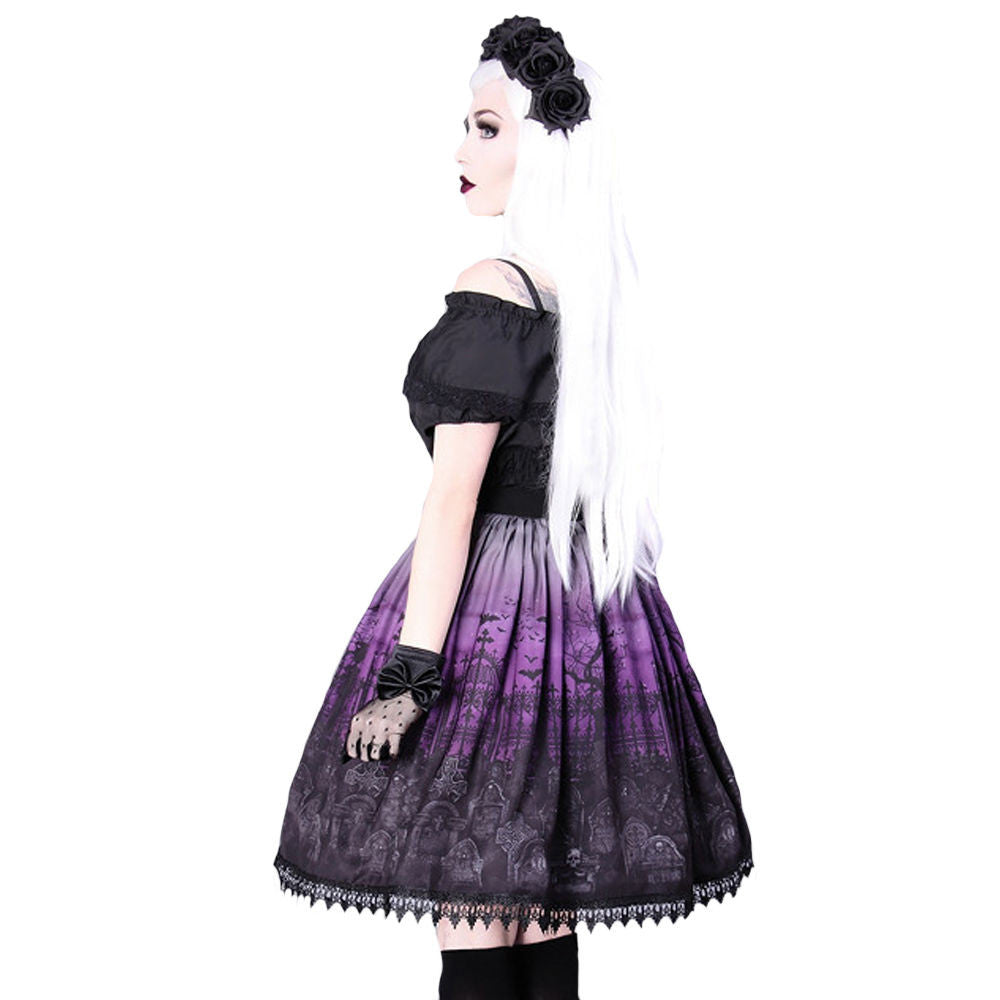 Restyle - CEMETERY PURPLE -  Womens Skirt