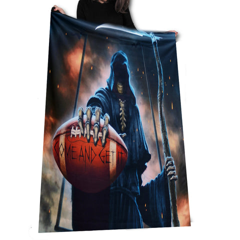 Wild Star - Come and Get It Reaper - Fleece Blanket / Throw