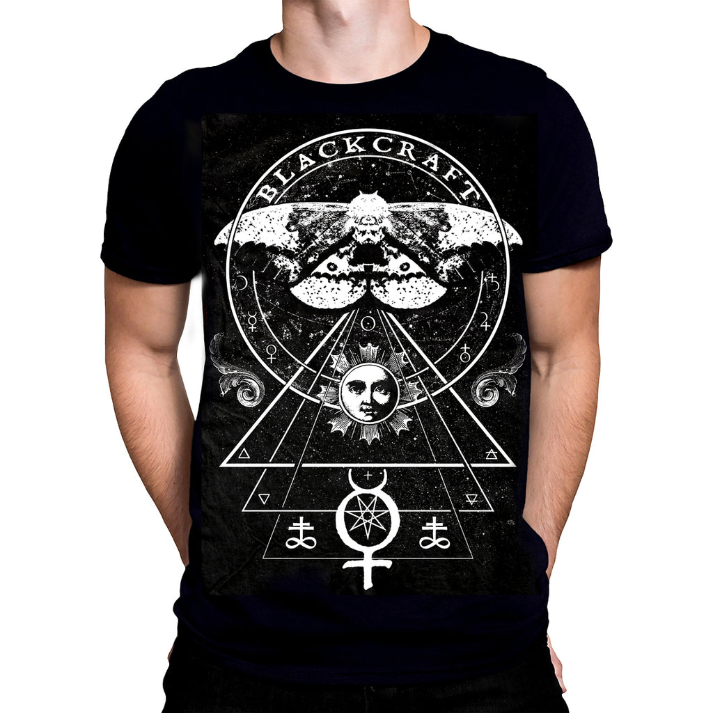 Blackcraft Cult - CROWLEY'S MOTH - Men's T-Shirt