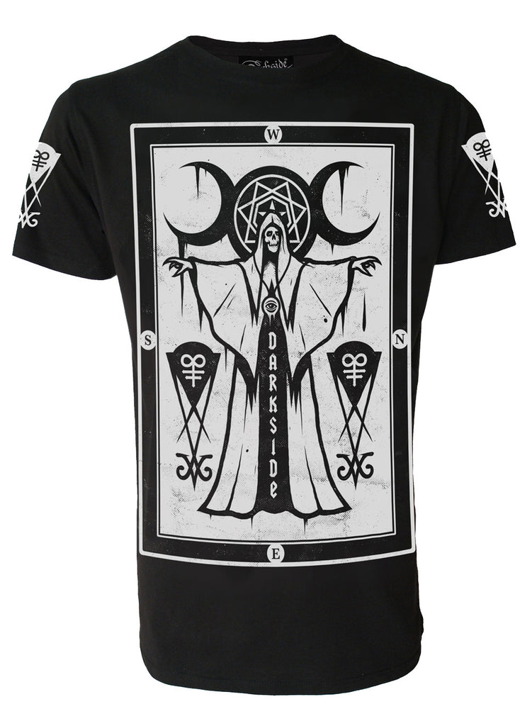 Darkside - CULT PRIEST - Mens T-Shirt - Black