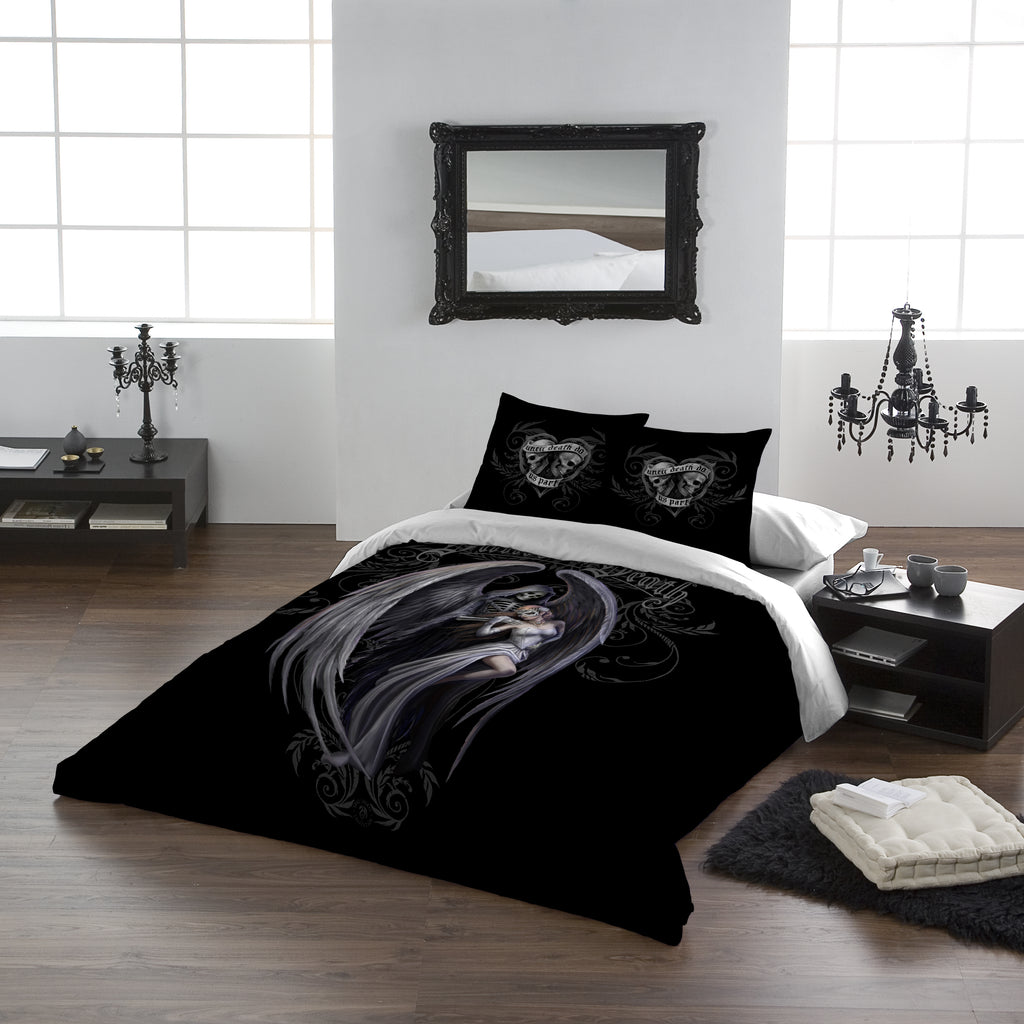 DANCE WITH DEATH -Duvet & Pillow Cover Set UK SuperKing /US Kingsize