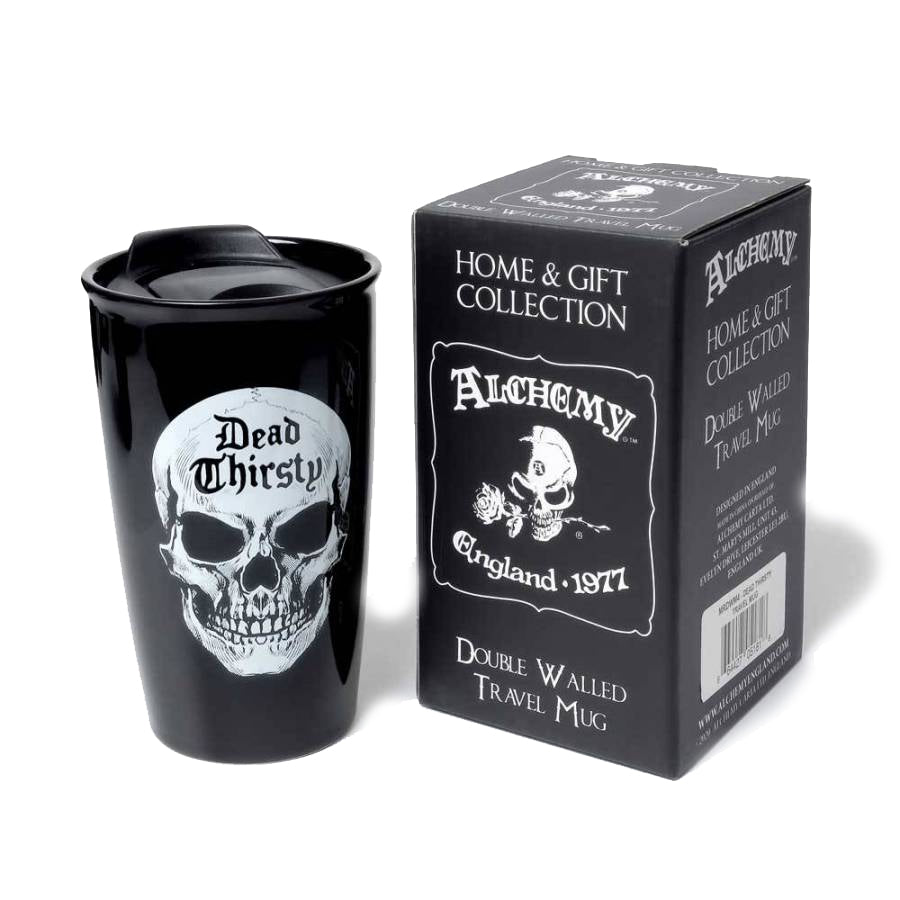 Alchemy - DEAD THIRSTY - Double Walled Mug