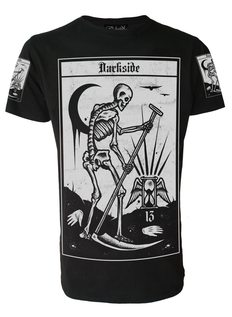 Darkside - DEATH TAROT - Mens T-Shirt - Black