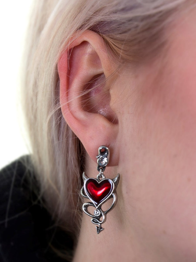 Image of Earrings on Model