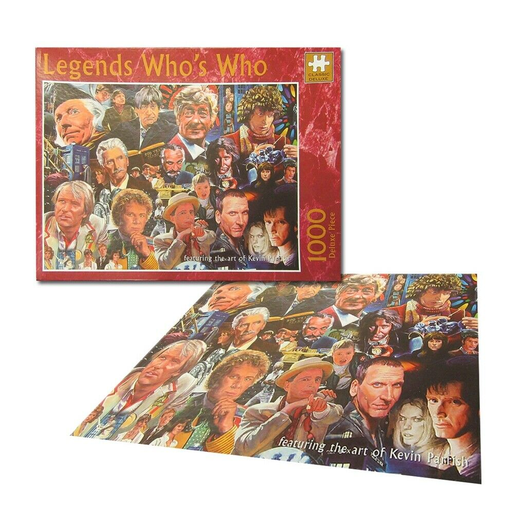 Legends - DR WHO WHO'S 1000 piece Collector Jigsaw Puzzle