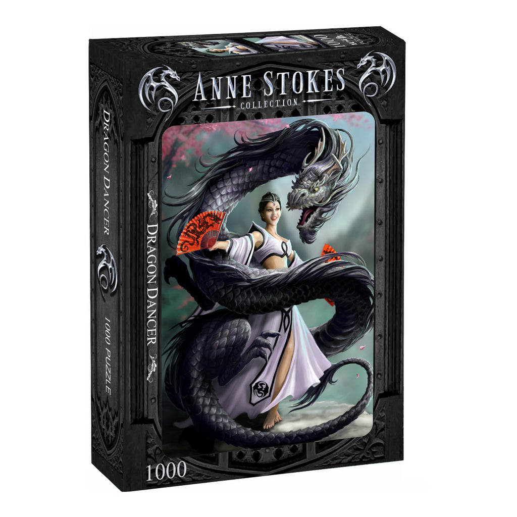 Anne Stokes - DRAGON DANCER - 1000 piece jigsaw