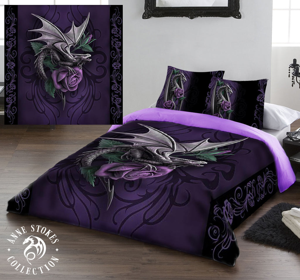 DRAGON BEAUTY- Duvet & Pillowcases Covers Set Superking/Kingsize
