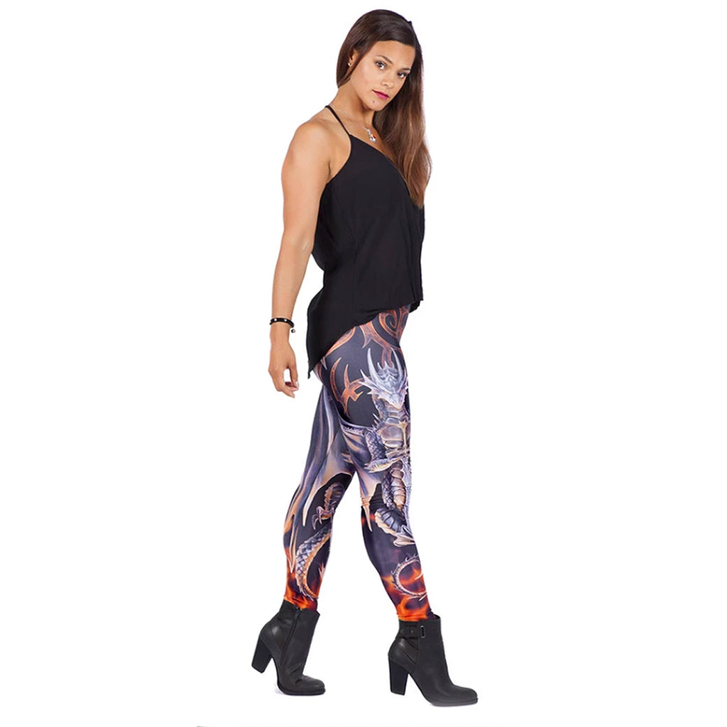 WB Anne Stokes - DRAGON WARRIOR - Leggings