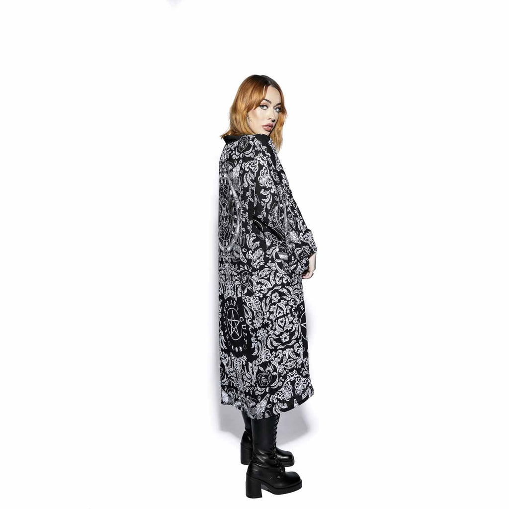 Blackcraft Cult - DREAM STATE - Long Duster Kimono
