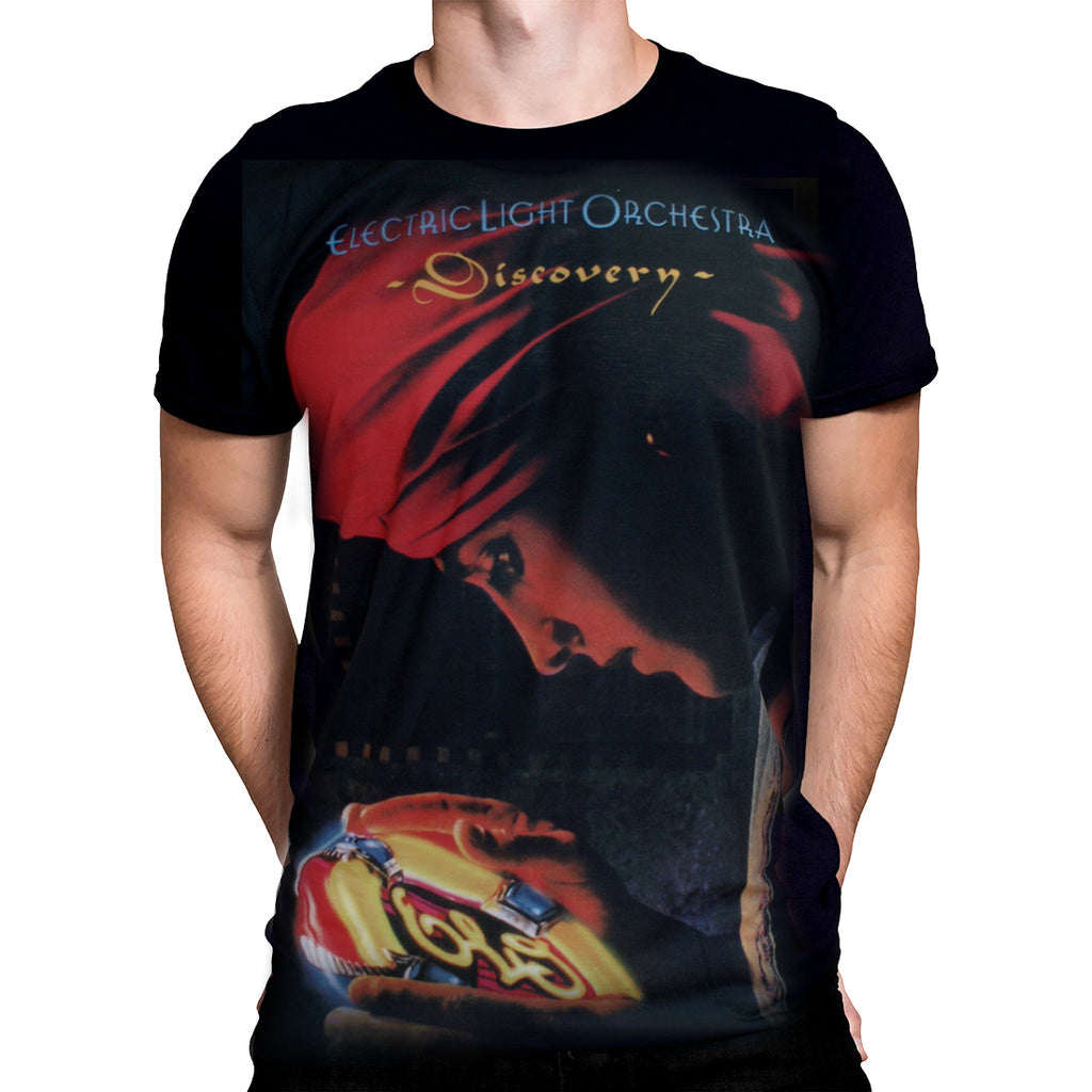Born2Rock - DISCOVERY Electric Light Orchestra - Mens T-Shirt