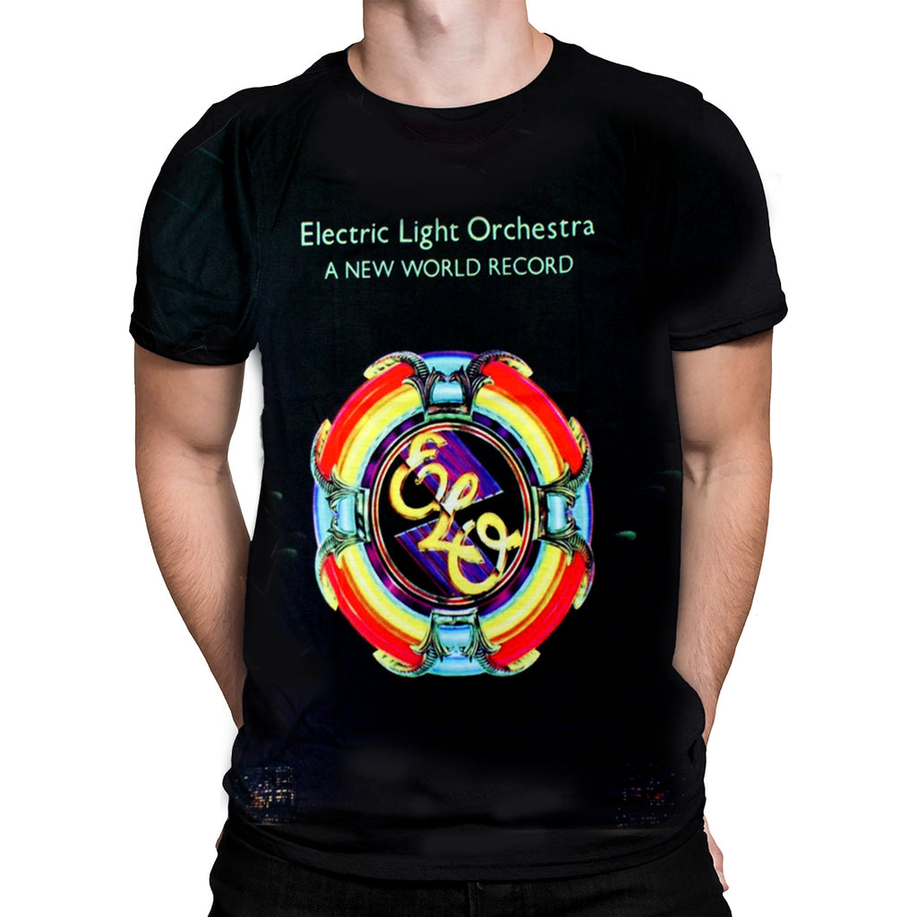 Born2Rock - NEW WORLD RECORD - Electric Light Orchestra T-Shirt