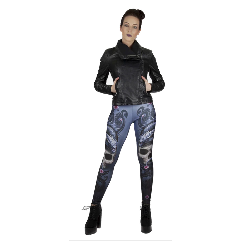 WB Anne Stokes - EASTERN DRAGON - Leggings