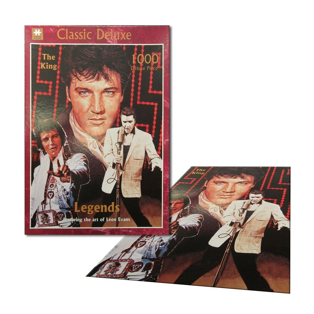 Legends - ELVIS THE KING 1000 piece Collector Jigsaw Puzzle