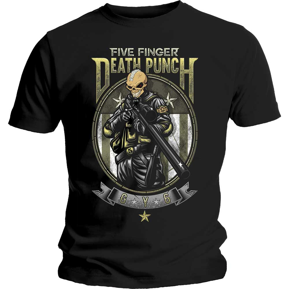 Rock Off - FFDP SNIPER - Cotton T-Shirt