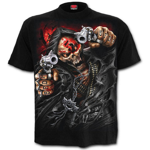 Spiral - 5FDP - ASSASSIN - Mens Short Sleeve T-Shirt Black