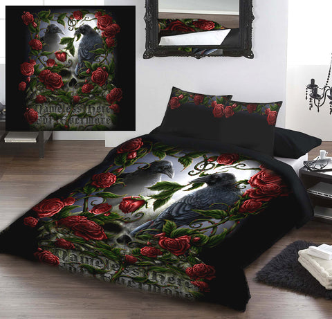 FOREVERMORE - Duvet&Pillows Cover Set Double/Twin