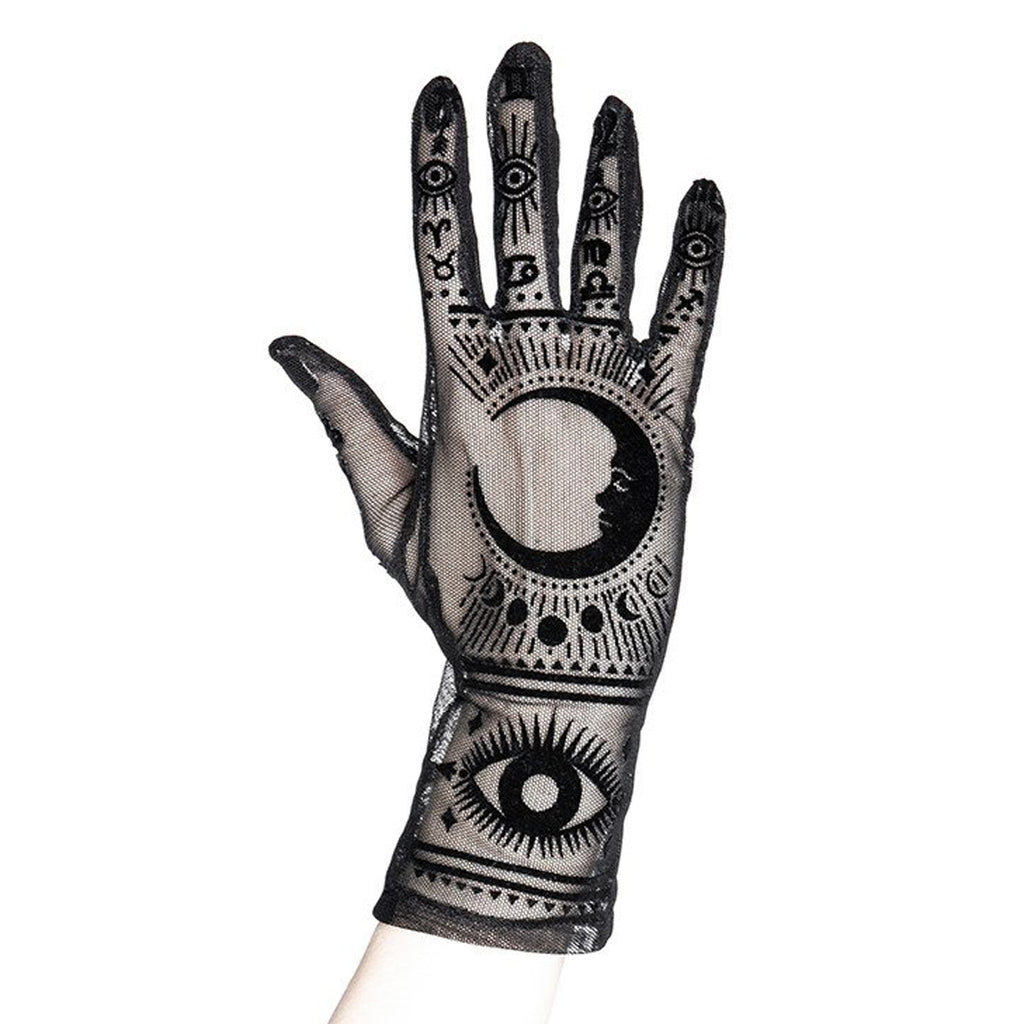 Close up image of gloves
