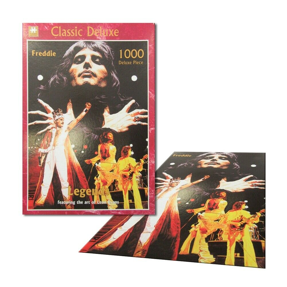 Legends - FREDDY MERCURY of QUEEN - 1000 piece Collector Jigsaw Puzzle