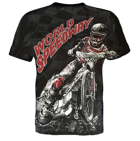 Aquila - WORLD SPEEDWAY - Mens T-Shirt