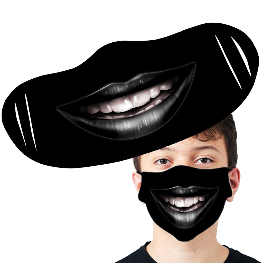 Darkside - GOTH SMILE - Fashion Face Mask