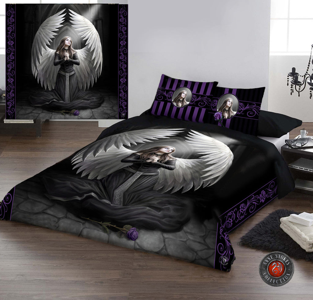 GUARDIAN ANGEL - Duvet & Pillowcases Covers Set UK Double/US Twin