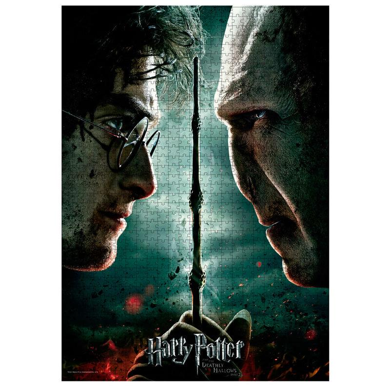 Harry vs Voldermort - 1000pcs Puzzle