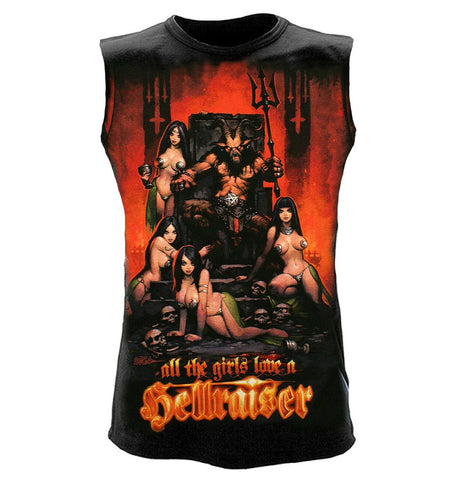 Wild Star - HELLRAISER - Mens Sleeveless Tank Top