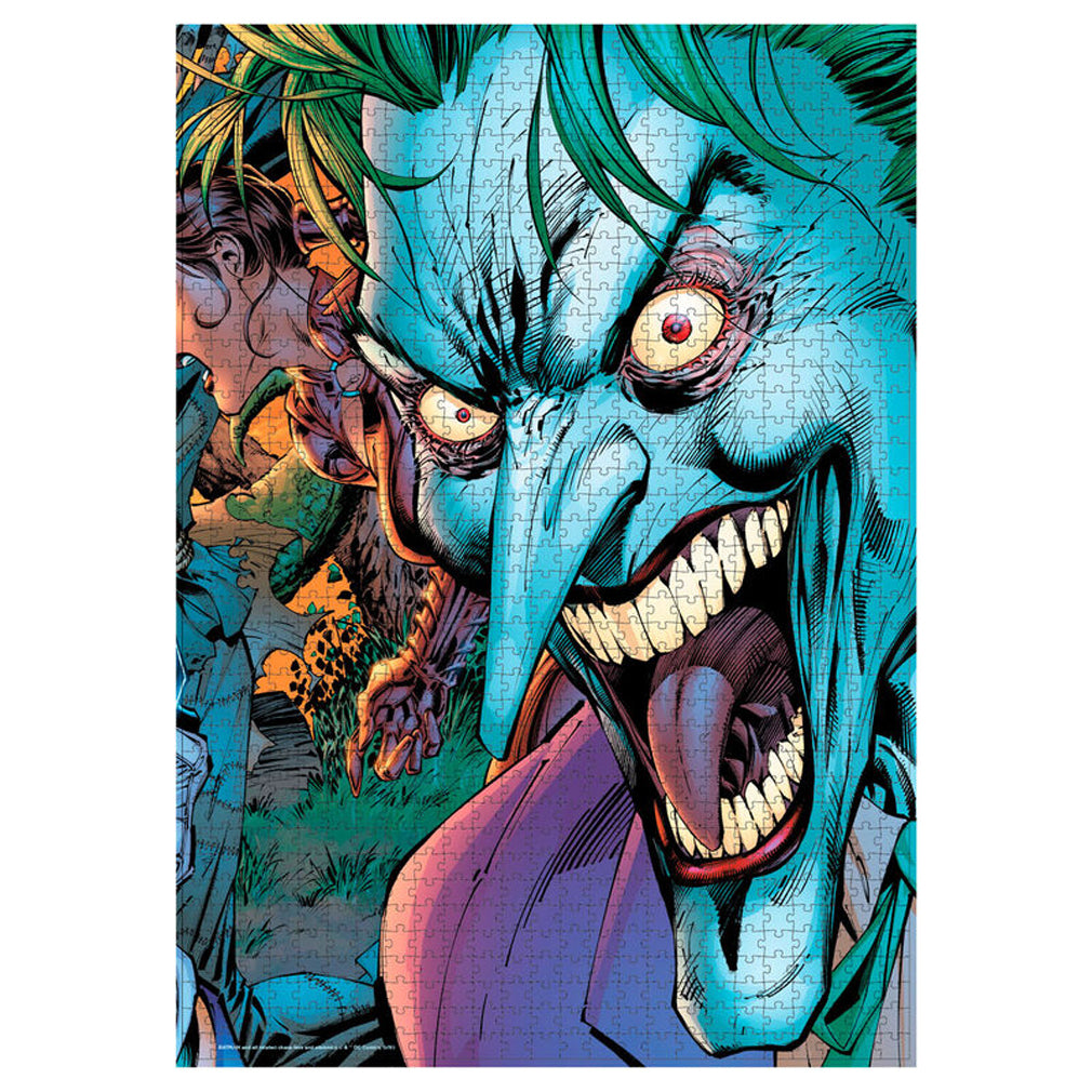 DC Comics - Joker Crazy Eyes - 1000pc Puzzle