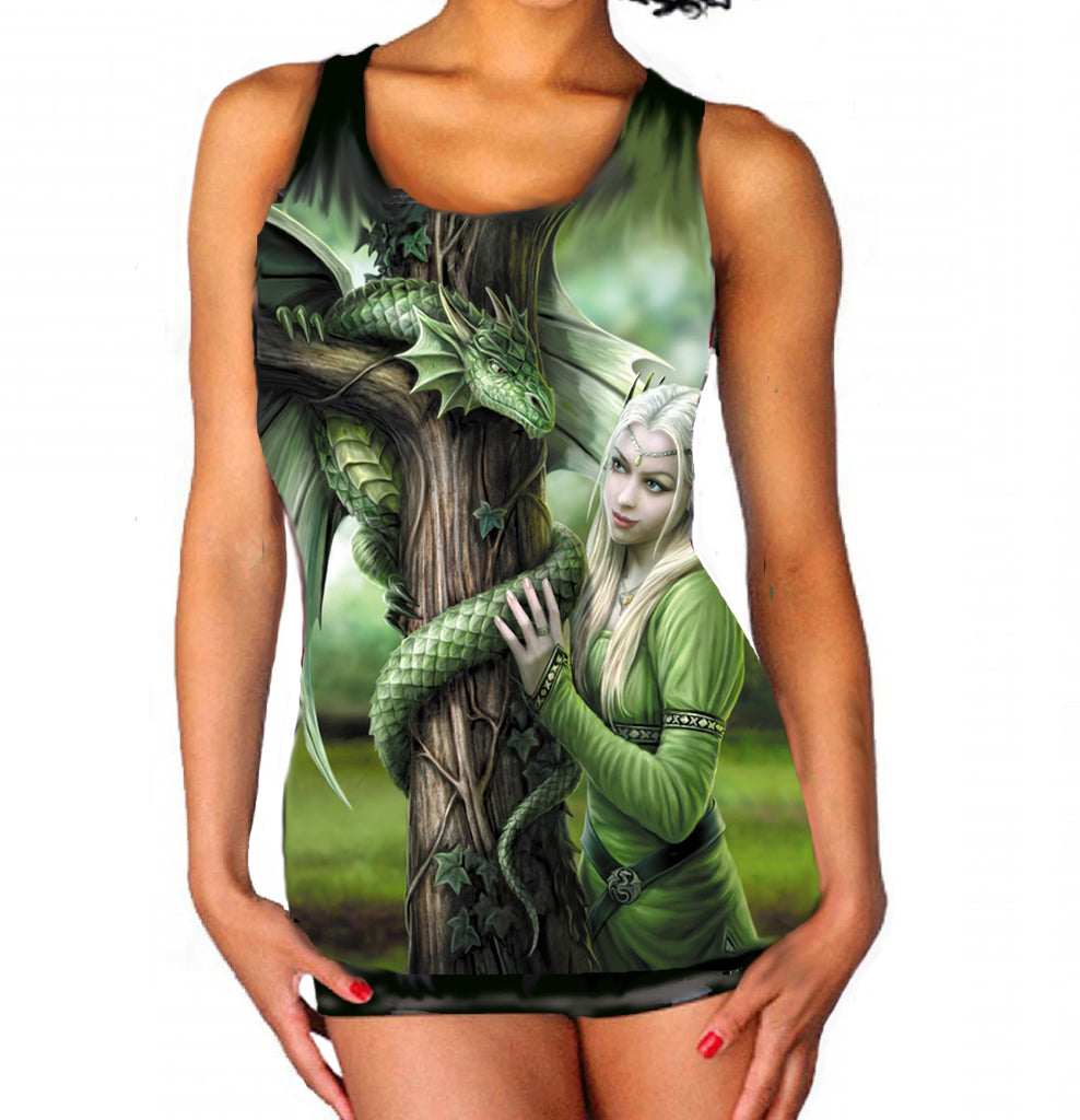 Wild Star - Kindred Spirits - Womens Vest Top  Available in PLUS SIZES