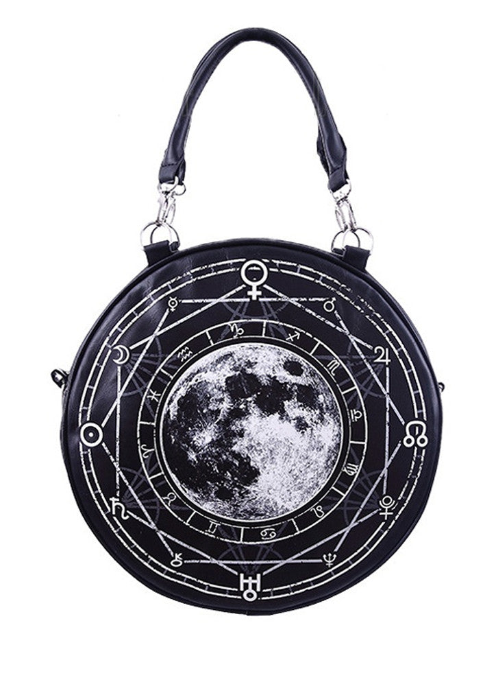 Restyle - LUNAR ROUND BAG - Black