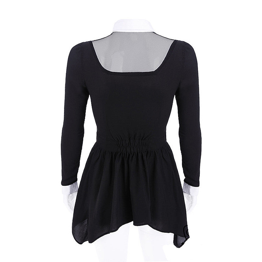 Restyle - LUNA SHIRT - Women's Top - Black