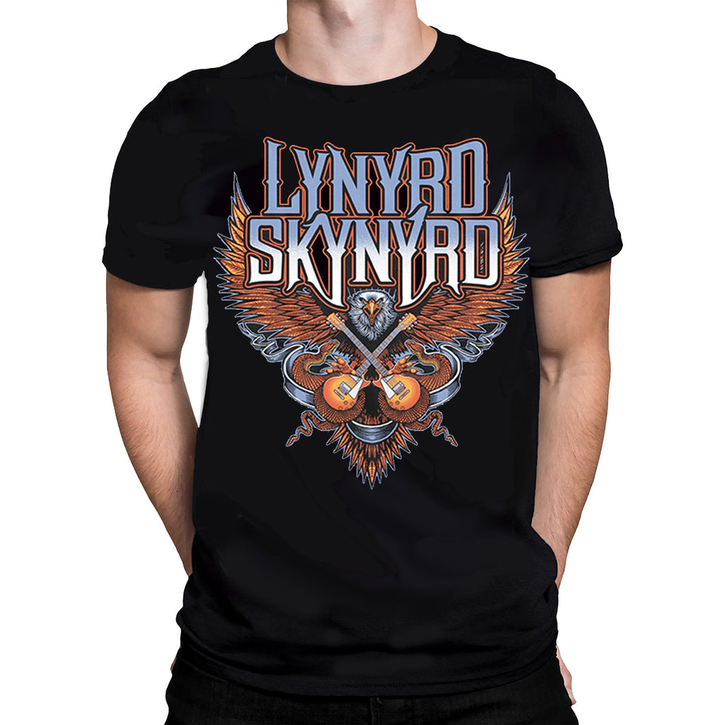 Plastic Head Lynyrd Skynyrd - CROSSED GUITARS - Mens T-Shirt