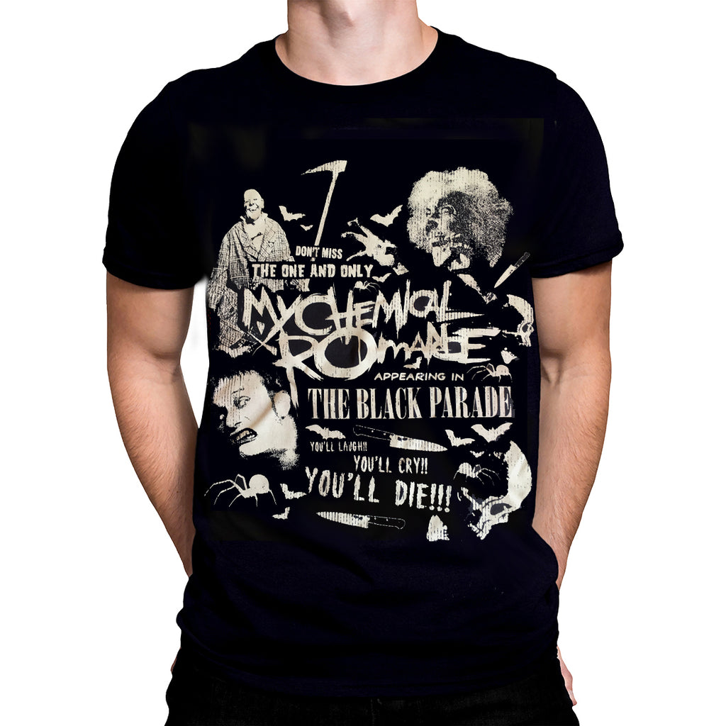 PHD - SCARY - My Chemical Romance T-Shirt