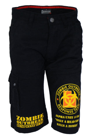 Darkside - ZOMBIE RESPONSE TEAM - Mens Cargo Shorts