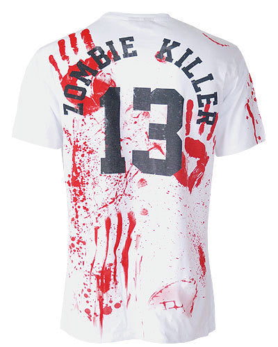 Darkside - ZOMBIE KILLER 13 White - Mens T-Shirt - White