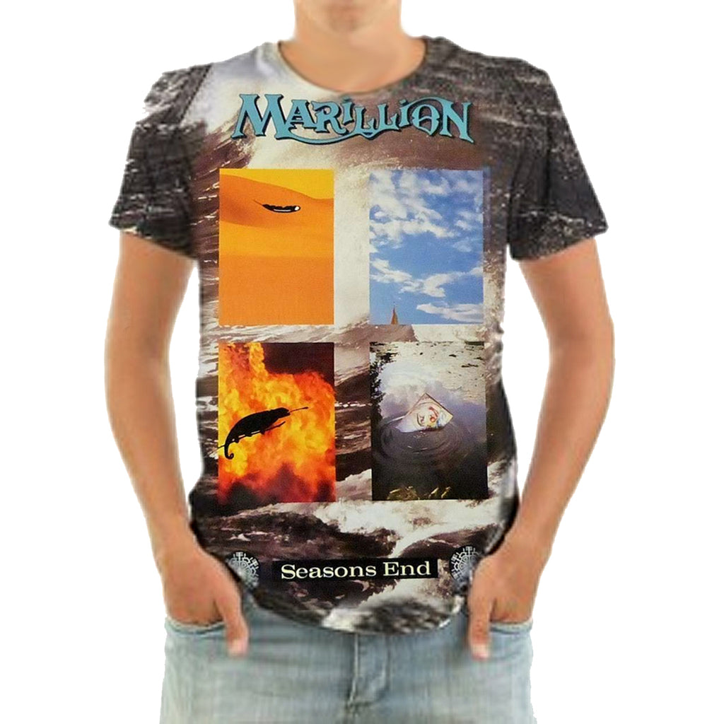 Born2Rock - Marillion - SEASONS END - T-Shirt