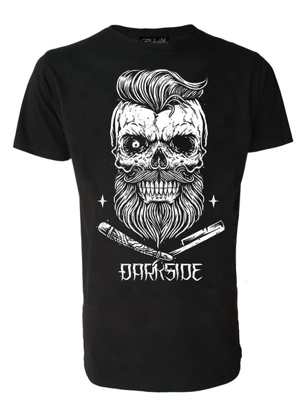 Darkside - CUT-THROAT ZOMBIE - Mens T-Shirt - Black