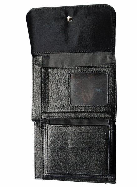 Darkside - TWISTED CLOWN  - Bi-Fold Simulated Leather Wallet