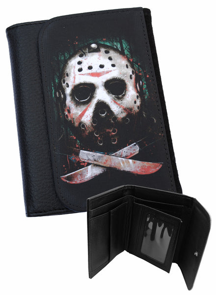 Darkside - JASON FRIDAY 13TH - Bi-Fold Simulated Leather Wallet