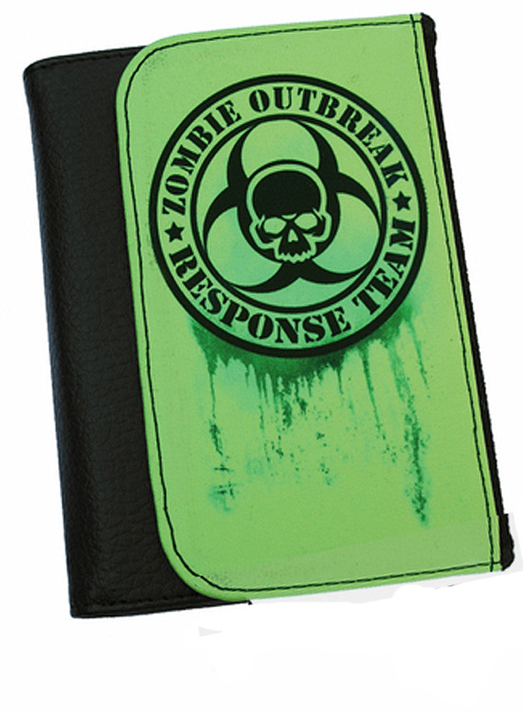 Darkside - ZOMBIE OUTBREAK RESPONSE  - Bi-Fold Simulated Leather Wallet