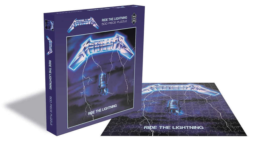RockSaws - METALLICA - RIDE THE LIGHTENING - 500pc Jigsaw Puzzle