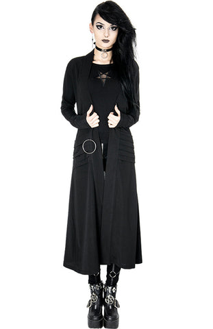 Restyle - NIGHTWALKER COAT - Long jacket, cardigan with pockets