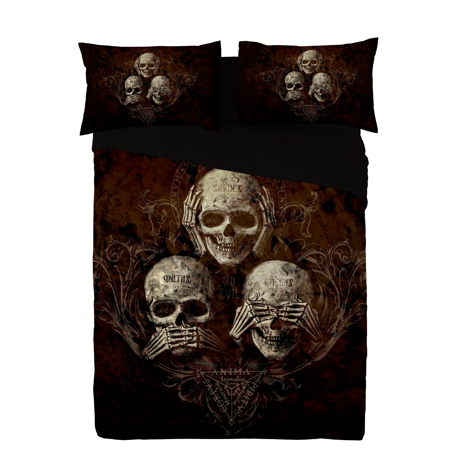NO EVIL Duvet and Pillows Covers Set