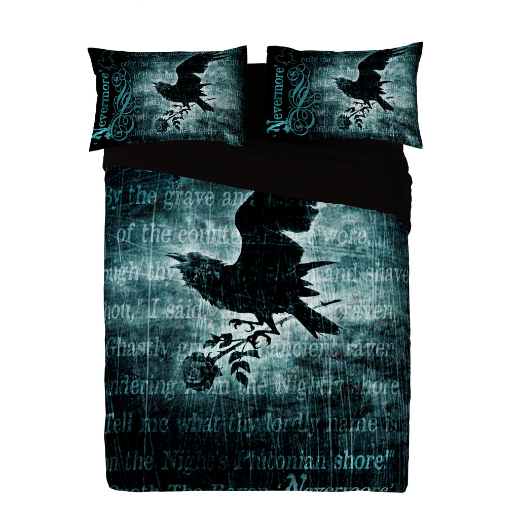 Alchemy - NEVERMORE - Super King Duvet Cover Set (King USA)