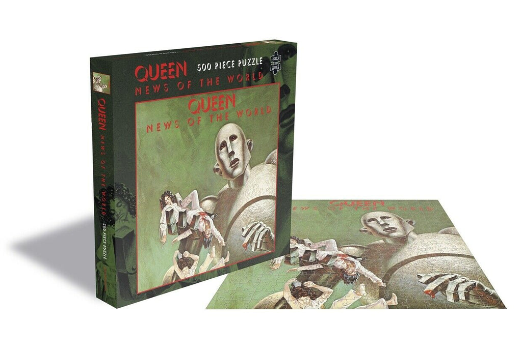 RockSaws - NEWS OF THE WORLD - Queen 500 Piece jigsaw