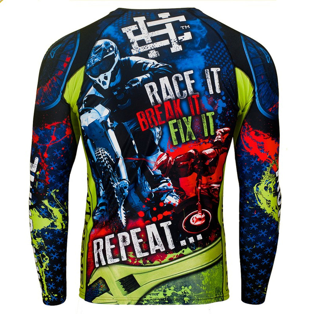 Extreme Hobby - OFF ROAD - Rashguard Long sleeve