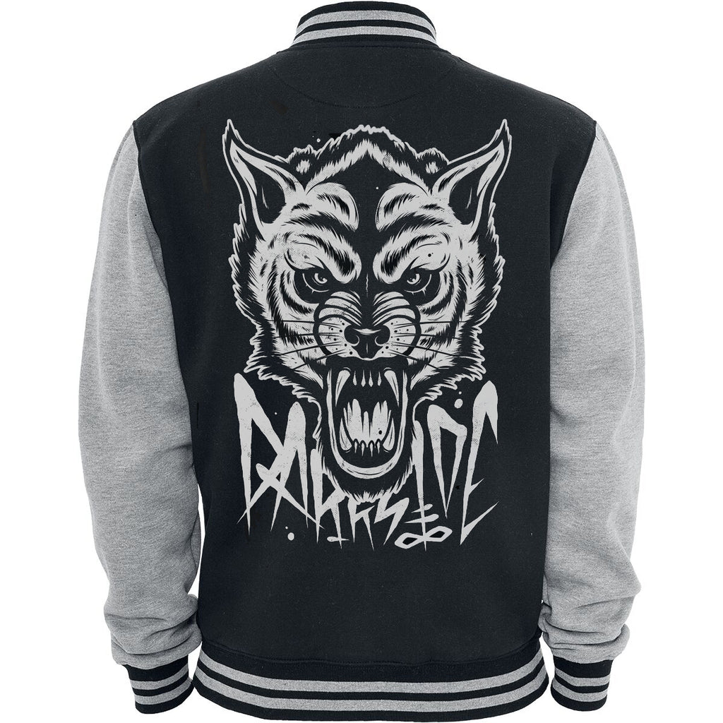 Wild Star Hearts - OCCULT WOLF VARSITY - Mens Jacket