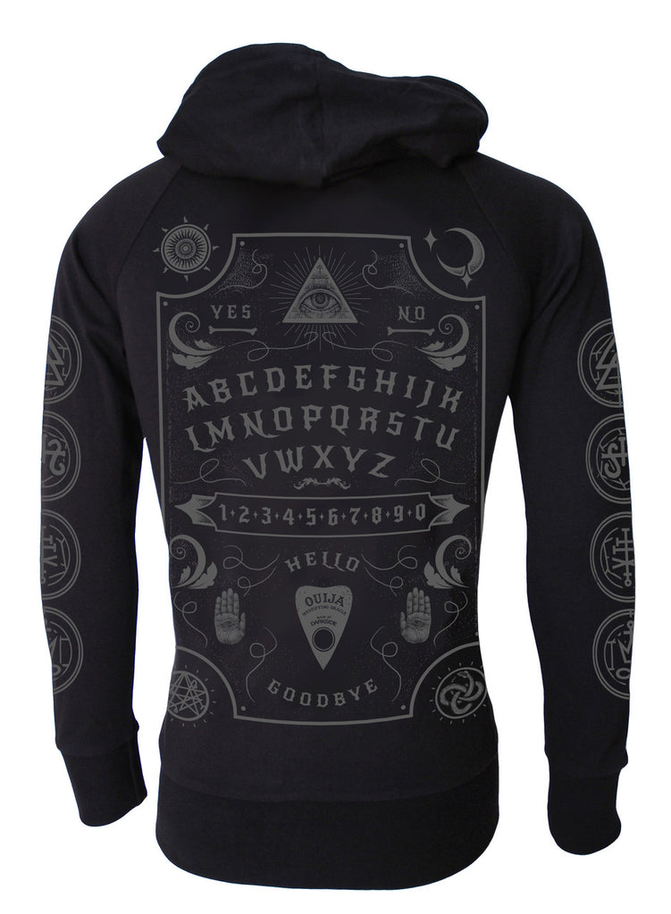 Darkside - OUIJA BOARD - Unisex Lightweight Hoodie - Black