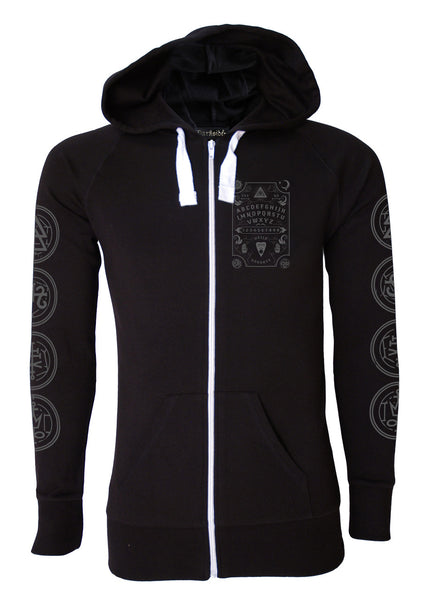 Darkside - OUIJA BOARD - Mens Lightweight Hoodie - Black