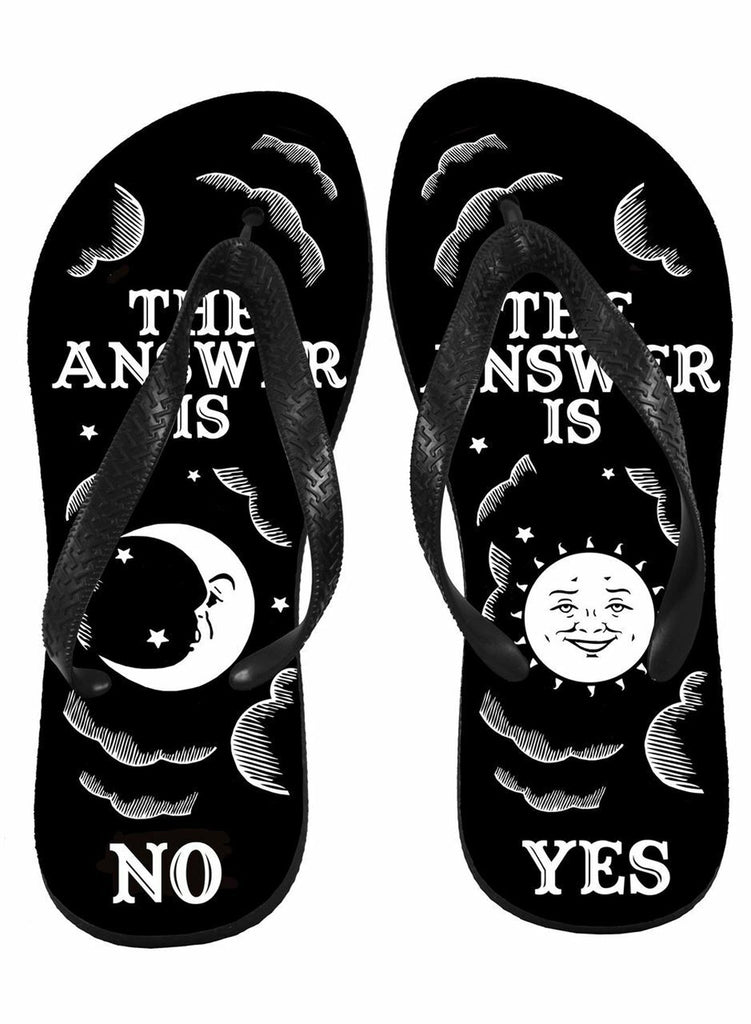 Darkside - OUIJA YES NO - Flip Flops